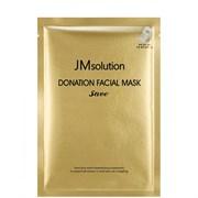 JMsolution Маска с коллоидным золотом - Donation facial mask save, 37мл