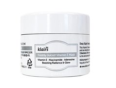 Маска с витамином Е Klairs Freshly Juiced Vitamin E Mask Miniature, 15 мл