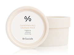 Dr.Ceuracle, Рисовая маска для лица Ganghwa Rice Granule Pack, 115 г