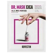 Успокаивающая тканевая маска ROVECTIN Skin Essentials Dr. Mask Cica, 25 мл