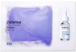Маска с азуленом и гиалуроновой кислотой JsDERMA Intensive Serum Mask, 25 мл