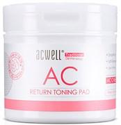 Обновляющие пэды с кислотами ACWELL Return Toning Pad, 120 мл, 50шт
