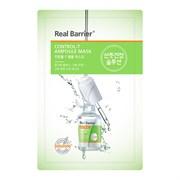 Тканевая маска для контроля жирности кожи REAL BARRIER Control-T Ampoule Mask, 25 мл