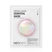 Маска тканевая с экстрактом белой икры Neogen Crystal Caviar Essential Mask, 25 гр