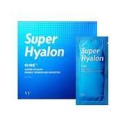 Интенсивно увлажняющая пузырьковая маска-пенка VT Cosmetics Super Hyalon Bubble Sparkling Booster,10 гр