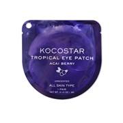 Kocostar Гидрогелевые патчи для глаз Тропические фрукты (2 патча/1 пара) (Ягоды Асаи) 3г/ Tropical Eye Patch (Acai Berry) Single